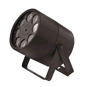Projetor de Luz PLS Orbiter LED 8 LEDs 5W RGBW
