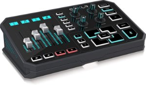 GoXLR Mixer Helicon Gaming - Mesa, Sampler e Processador de Voz e Efeitos para Streamers