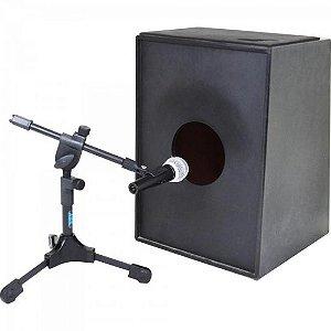 Suporte p/ Microfonar Bumbo MB Preto ASK