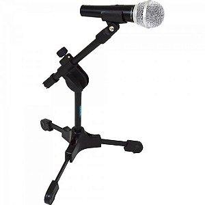 Suporte p/ Microfone de Mesa Semi Articulado SPM LIGHT Preto ASK