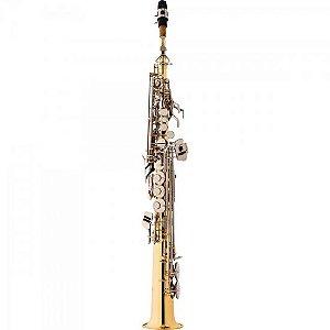 Saxofone Soprano Bb SP502-LN Laqueado EAGLE