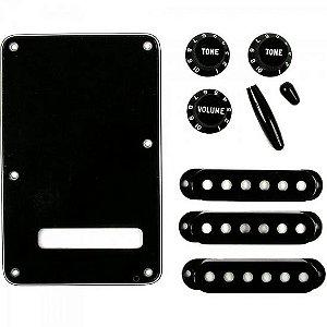 Kit de Acessórios para Guitarra VINTAGE-STYLE STRATOCASTER Preto FENDER