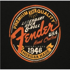 Camiseta Legendary Rock and Roll G FENDER