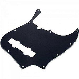 Escudo para Contra Baixo Hole Jazz Bass Preto FENDER