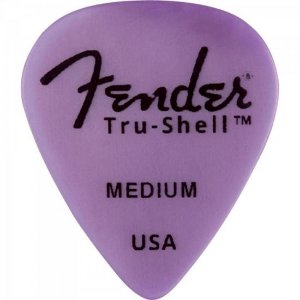 Palheta 351 Medium Tru-Shell FENDER
