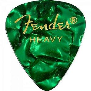 Palheta Celulóide Shape Premium 351 Heavy Green Moto FENDER (144 UN)