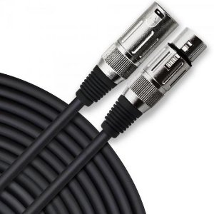 Cabo para Microfone XLR(F) X XLR(M) 7m PLAYER Preto HAYONIK