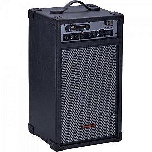 Caixa Multiuso 100W Bluetooth/USB/SD/FM IRON 600 Preta HAYONIK