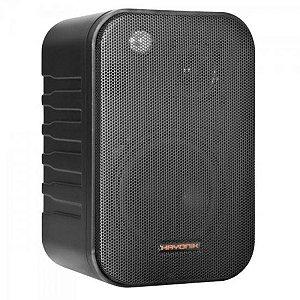 Caixa Acústica 60W AMBIENCE LINE MSB406B Preta HAYONIK (2 UN)