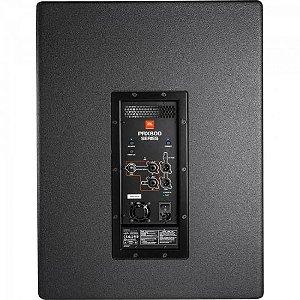 "Caixa Acústica Ativa 15"" 1500W PRX 815XLFW Preta JBL"