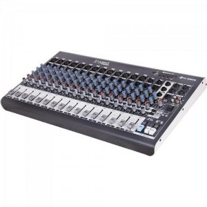 Mesa de Som 16 Canais Stereo Starmix XMS1602D Cinza LL AUDIO