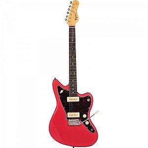 Guitarra Woodstock TW61 Fiesta Red TAGIMA