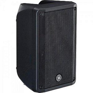 """Caixa Acústica Ativa 10"""" 325W DBR-10 Preta YAMAHA"""