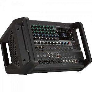 Mesa de Som Analógico Amplificado EMX7 Preto YAMAHA