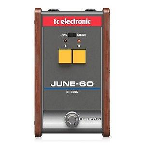 Pedal de Chorus para Guitarra TC Electronic June-60 Vintage-Analógico