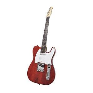 Guitarra Benson Nemesis-RD MAD Vermelha em Oak e Maple