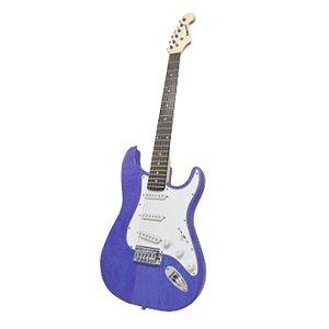 Guitarra Benson Pristine-BL MAD Azul em Oak e Maple