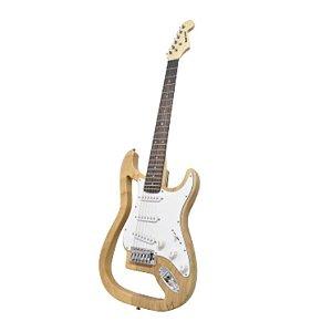 Guitarra Benson Ghost-N MAD Natural em Oak e Maple