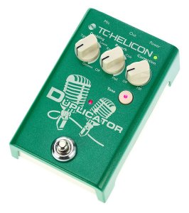 Pedal de Efeito Duplicador TC Helicon Duplicator Processador de Voz