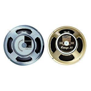 KIT Metal/Hard Rock Alto-falante Celestion G12T-75 + Celestion Vintage 30 V30 135W RMS 8 Ohms