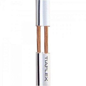 Fio Polar Ext 2x0,50mm 20 Preto TIAFLEX (Rolo com 100 metros)