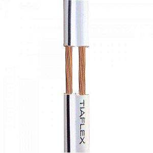 Fio Polar Ext 2x0,30mm 22 Preto TIAFLEX (Rolo com 100 metros)