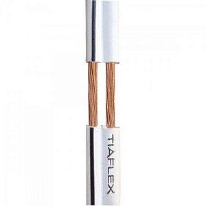 Fio Polar Ext 2x0,20mm 24 Branco TIAFLEX (Rolo com 100 metros)