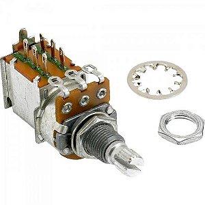 Potenciômetro 250K PUSH/PULL Prata FENDER