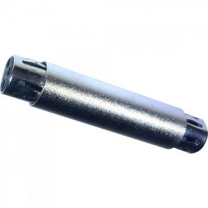 Emenda XLR x XLR em Metal EMCN0001 Prata STORM (Pacote com 10 Unidades)