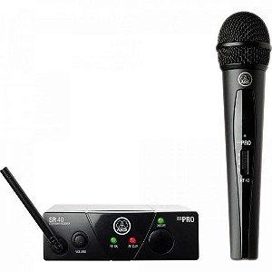 Sistema de Microfone Wireless 1 Bastão US25A AKG