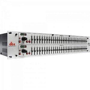 Equalizador Gráfico DBX 231S 2 Canais 31 Bandas Branco Bivolt