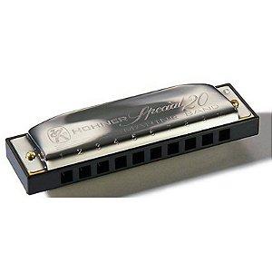 Harmônica Diatônica Hohner Special 20 F 560/20 Gaita de Boca em F (Fá) M560066
