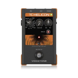 Pedal para Voz TC Helicon VoiceTone E1 Echo & Delay