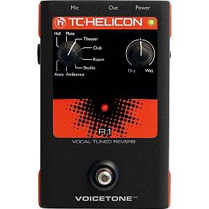 Pedal para Voz TC Helicon VoiceTone R1 Reverb