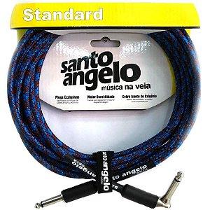 Cabo para instrumentos Santo Angelo ANGEL L TX B de 4,57m