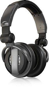 Fone de Ouvido para DJ Behringer BDJ 1000 Headphone Fechado Dobrável