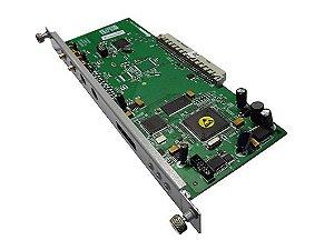 Placa Interface 1 Tronco E1 30 Linhas Digitais R2 RDSI Impacta 94 140 220 Intelbras