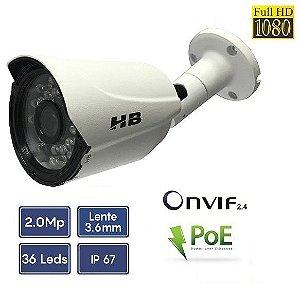 Câmera HB-IP 1/2.8 2.0 MP, lente 3.6mm