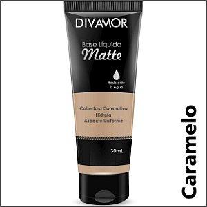 * Divamor Base Liq Matte R. Agua Caramelo