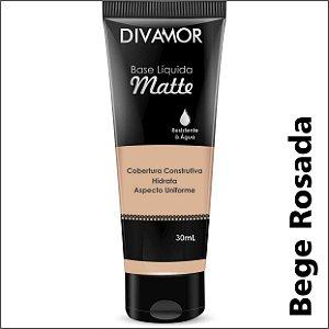 Base Liq Matte R. Agua Bege Rosada L317/18V10/20