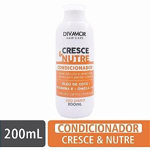 * Divamor Hair Condicionador Cresce & Nutre