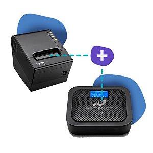 Kit SAT Bematech com Impressora Elgin i9
