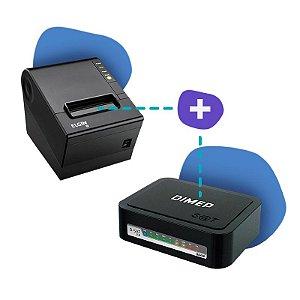 Kit SAT Dimep com Impressora Elgin i9