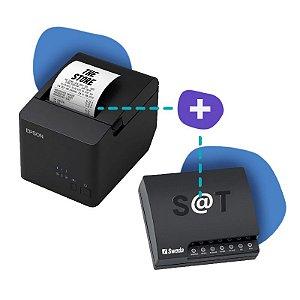 Kit SAT Sweda com Impressora Epson TM-T20X