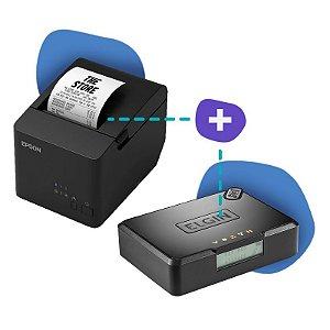 Kit SAT Elgin com Impressora Epson TM-T20X