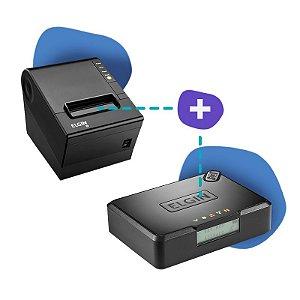 Kit SAT Elgin com Impressora Elgin i9
