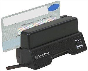 Leitor Cartão Magnético Techmag Magpass Trilha 1-2-3 - MPII-S180