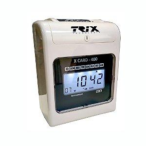 Relógio de Ponto Cartográfico Trix X-Card 400