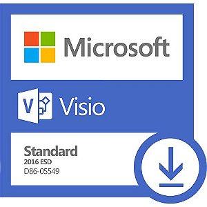 Software Microsoft Visio Standard 2016 ESD
