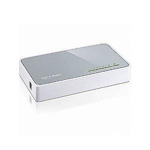 Switch TP-Link TL-SF1008D com 8 portas Ethernet